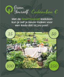 GreenYouself Cadeaubon 25 50 100 250